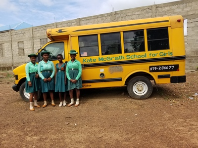 Kate McGrath School for Girls:     fully operational school bus