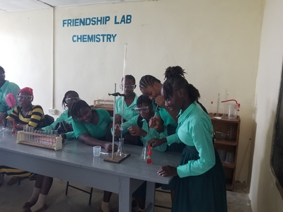 Kate McGrath School for     Girls: new chemistry labe